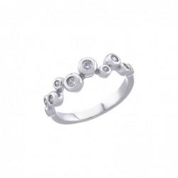 Strieborný prsteň 80029
